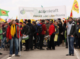 Demo Gundremmingen, FÖJler UIM
