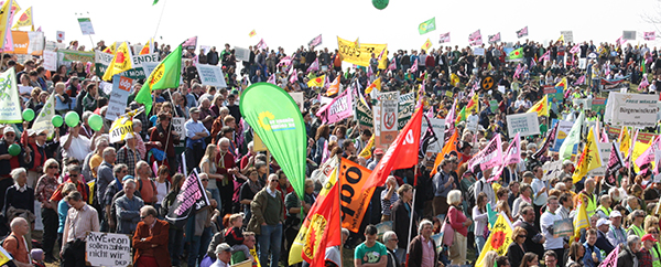 Energiewendemo in München