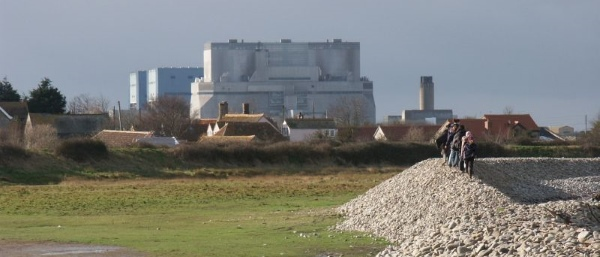 Der AKW-Standort Hinkley Point in Somerset, Foto: Simon Bramwell